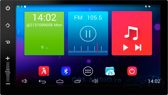 Штатная автомагнитола Android 4.4.2 Newsmy Carpad 3 NR3001-H-H для Nissan